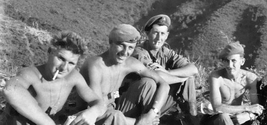 Canadian soldiers in the Korean War.